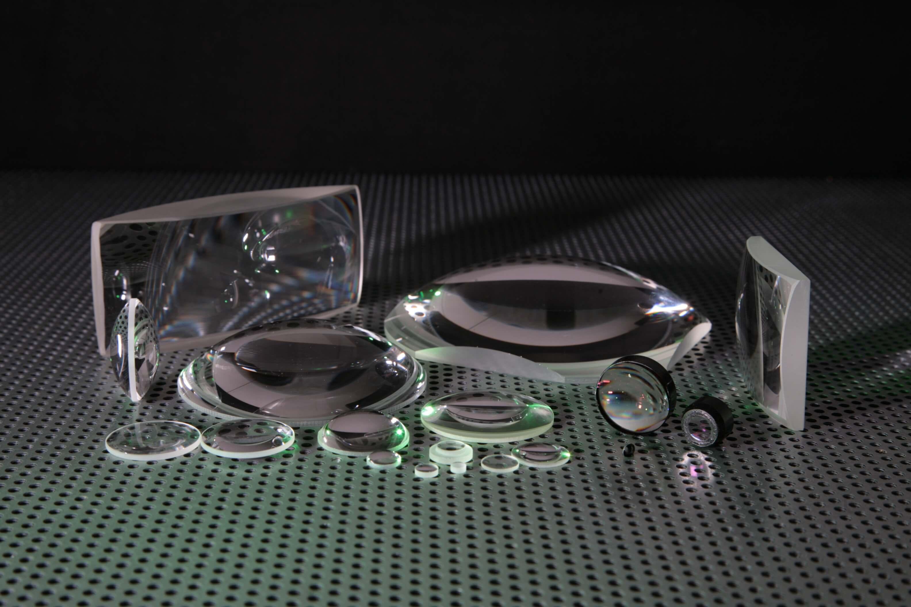 BK7 Plano Convex & Bi Vex Lenses Custom