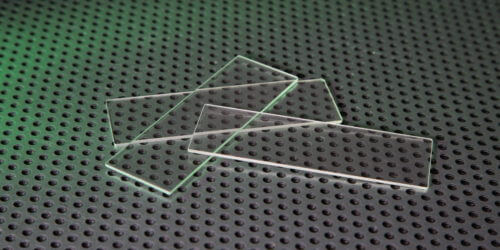 Hi Refractive Index Microscope Slides Stock