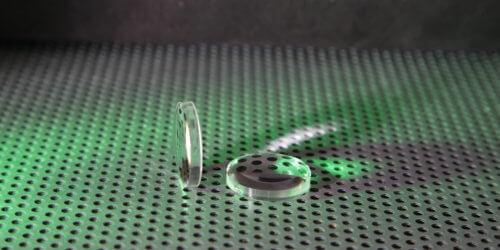 Plastic Lenses Stock