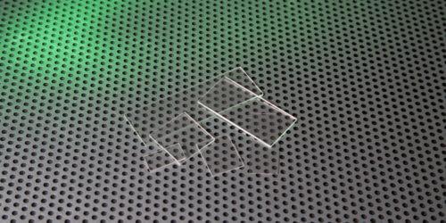 Sapphire Mircoscope Slides Custom
