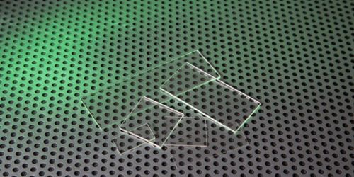 UV Microscope Slides Custom