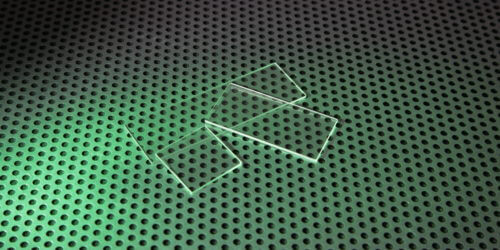 UV Microscope Slides Stock