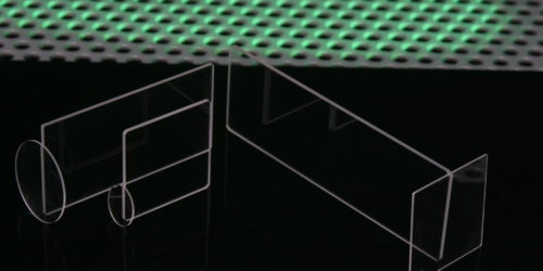 Z Cut Quartz Coverslips & Slides Stock