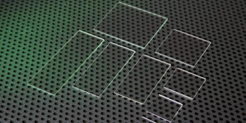 Calcium Fluoride Microscope Slides Custom