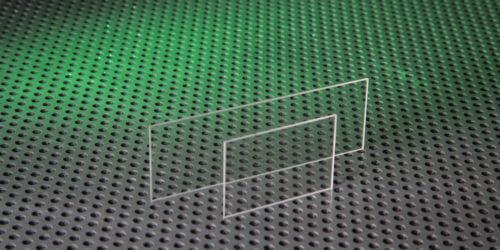 Calcium Fluoride Microscope Slides Stock