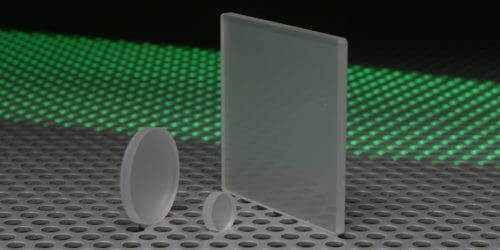 Glass Diffusers Windows and Plates Stock