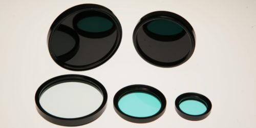 Mounted UV IR Blocking Filters Stock