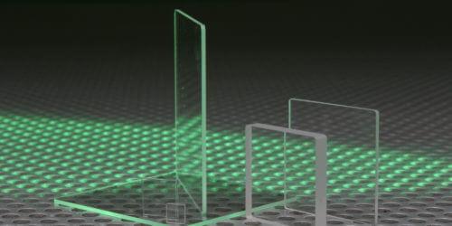 UV Fused Silica Plates Stock