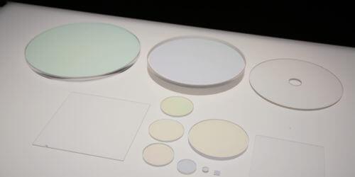 UV Fused Silica Windows - Ar Coated UV VIS NIR Custom