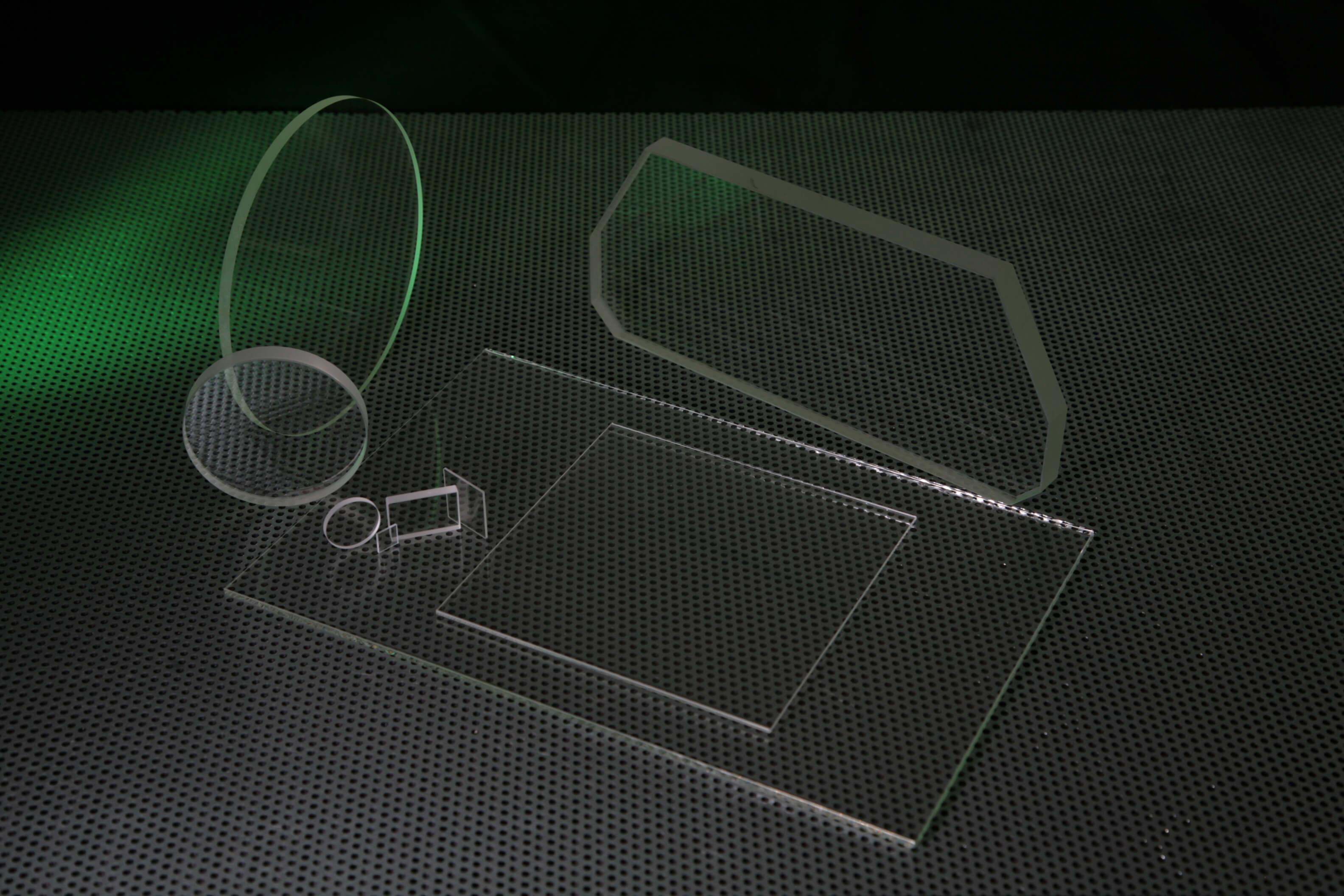 White Float Glass Windows and Plates Custom